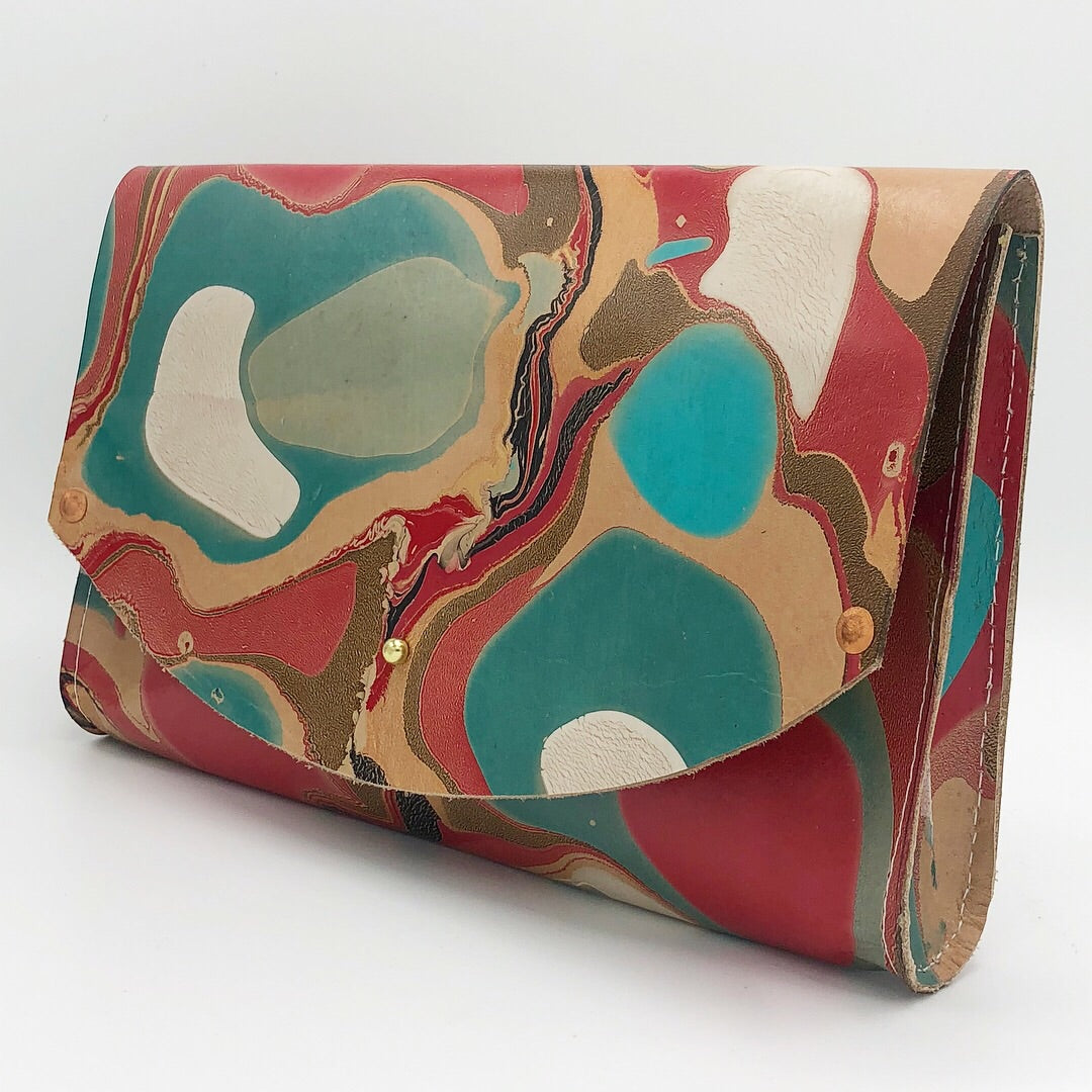 Poppy Tessa Curved Clutch - No One Alike
