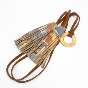 Moonlight Copper Tassel Nacklace - No One Alike
