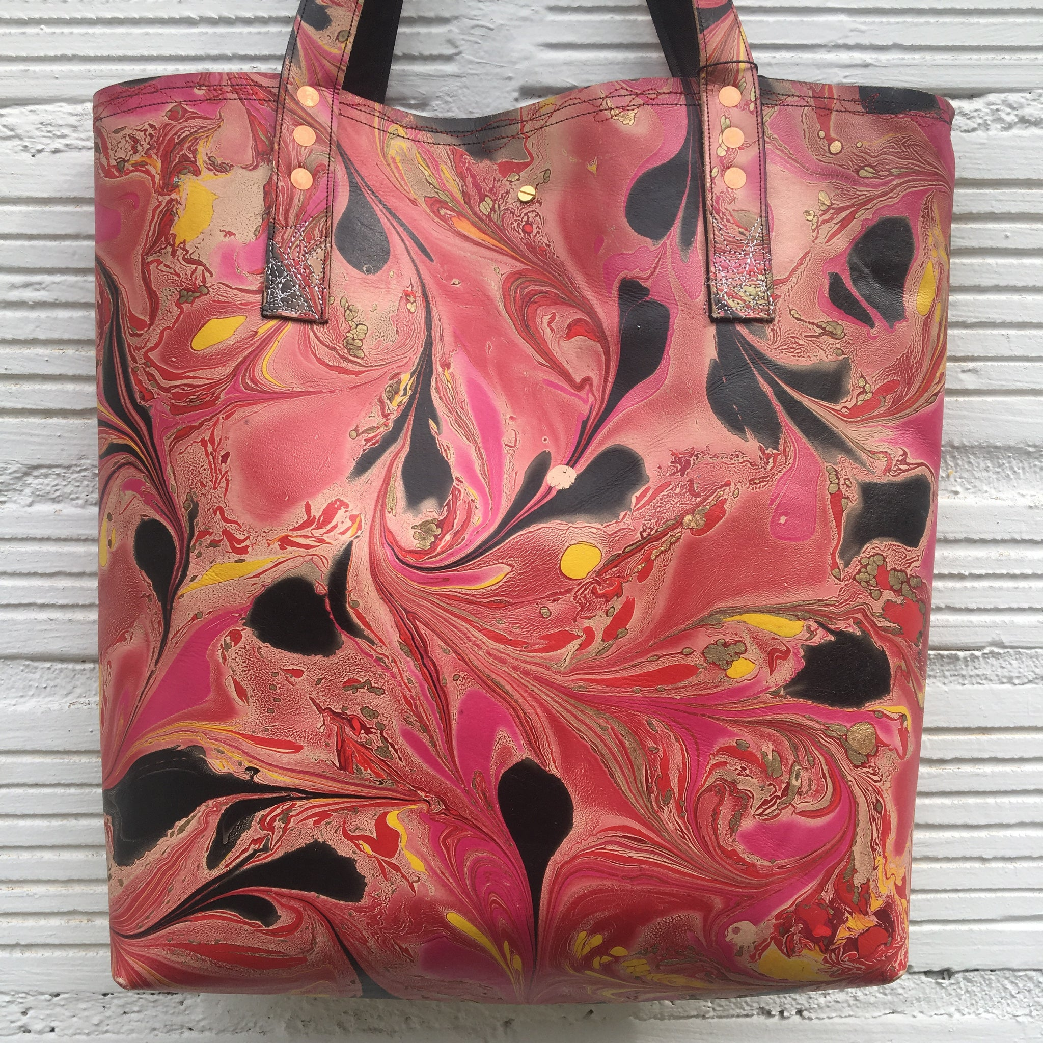 Hot Pink Large Tote - No One Alike