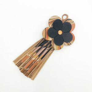 Copper Cat Floral Tassel - No One Alike