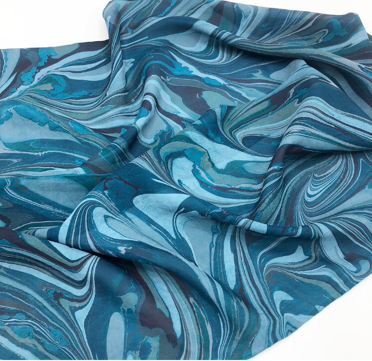 Deep Waters Small Scarf