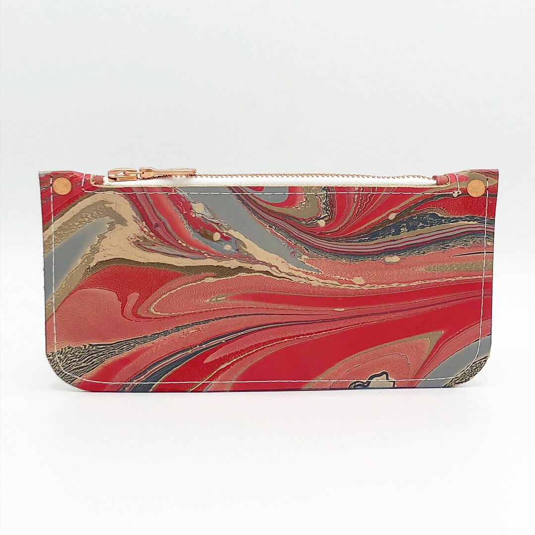 Ruby Zipper Pouch - No One Alike