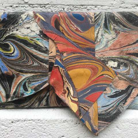 Mixed Media Contemporary Clutch