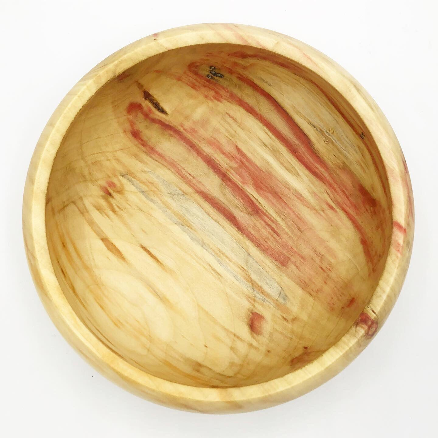 Flaming Box Elder Bowl - No One Alike