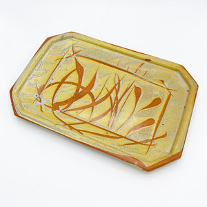 Golden Prairie Serving Platter - No One Alike