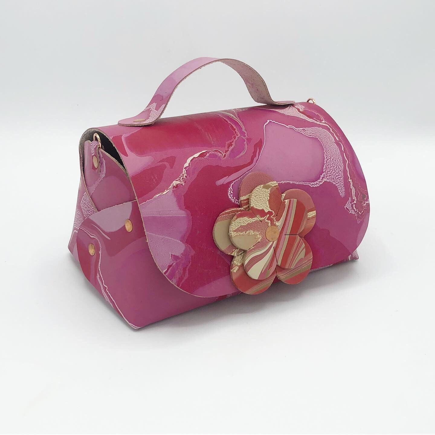 Pink Pop Mini Satchel - No One Alike