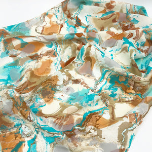 Topaz Pools Small Scarf