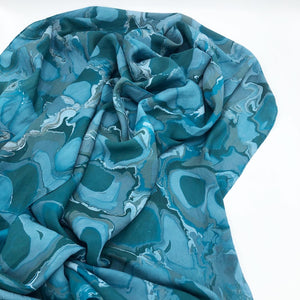 Agate Large Silk Wrap - No One Alike
