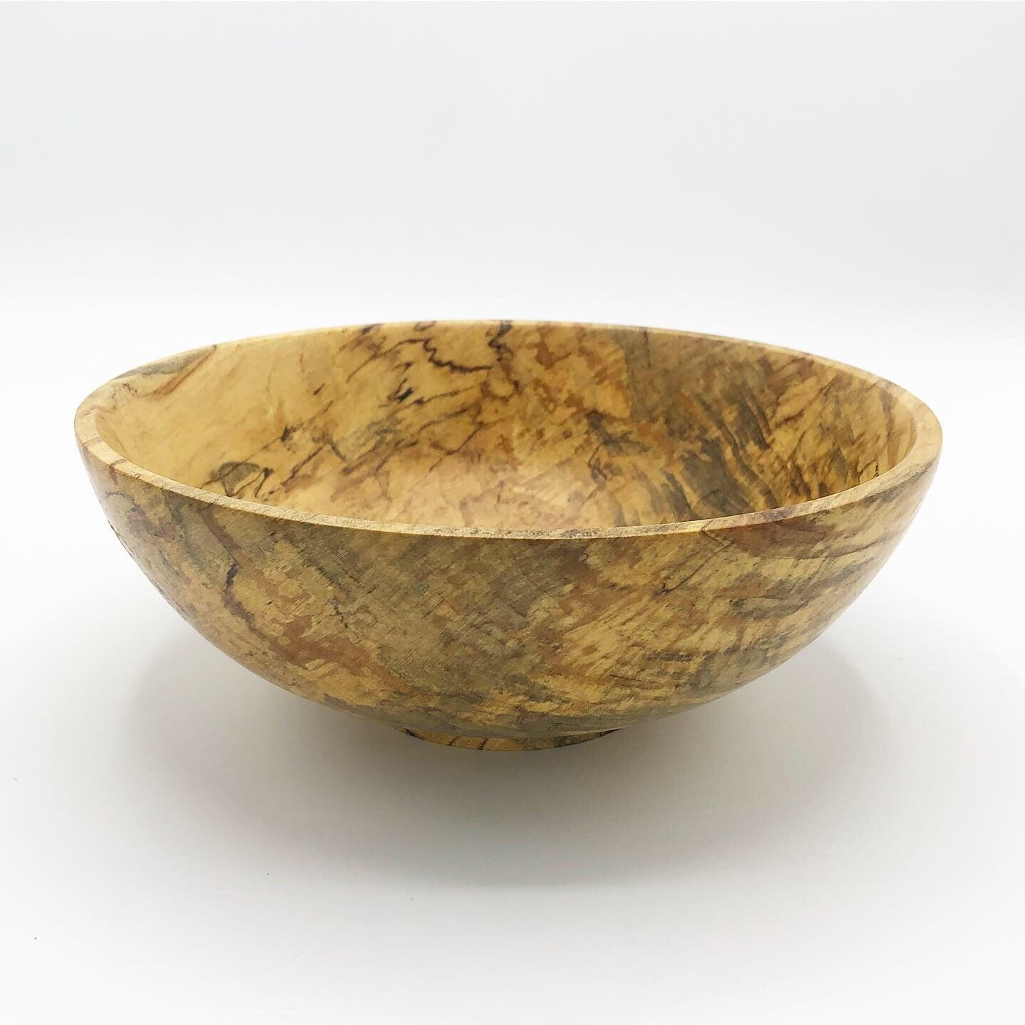 Rainbow Poplar Bowl - No One Alike