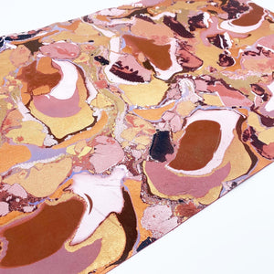Copper Vein Large Leather Sheet