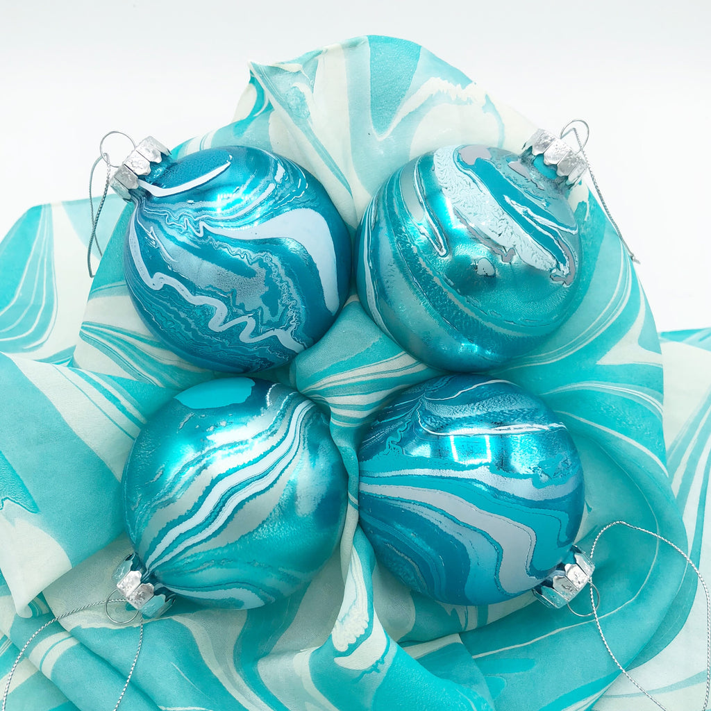 Frosted Small Ornament Set - No One Alike