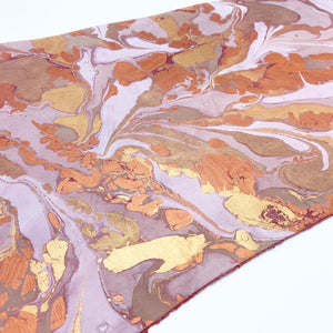 Copper Dream Large Leather Sheet