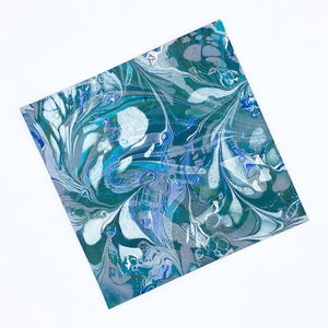Monet's Garden Small Leather Sheet