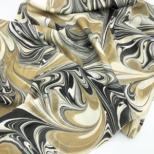 Calico Large Silk Wrap - No One Alike