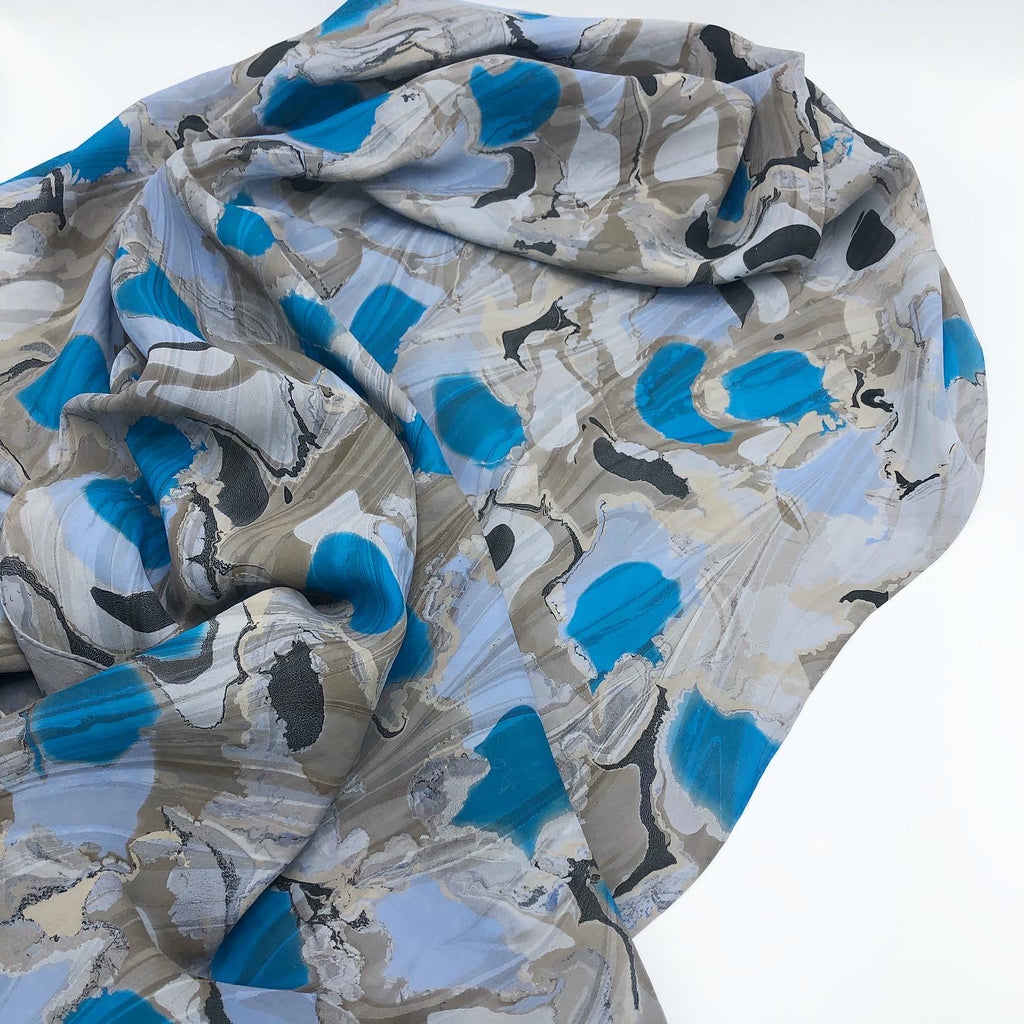 Wyoming Moon Large Silk Wrap - No One Alike