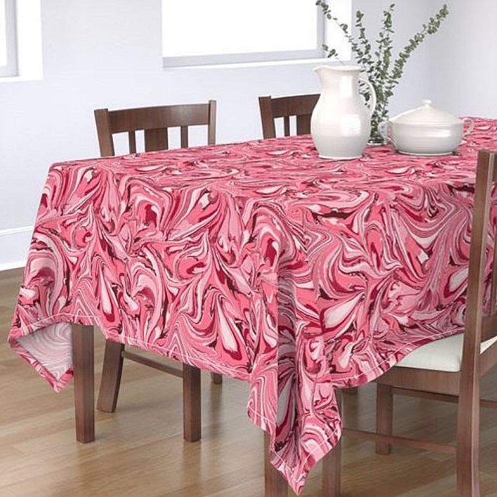 Adored Rectangular Tablecloth MADE TO ORDER