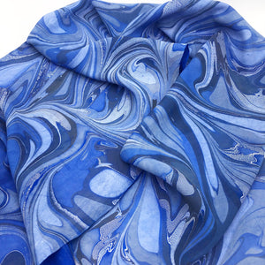 Cerulean Medium Scarf - No One Alike