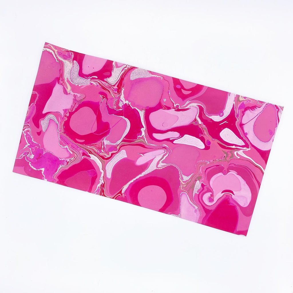 Pink Pop Medium Leather Sheet