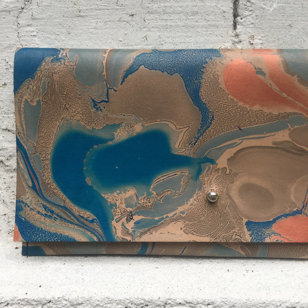 Blue Moon Fold Over Clutch