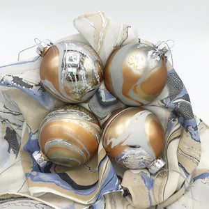 Silver Dollar Small Ornament Set - No One Alike