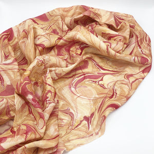 Victorian Rose Large Silk Wrap - No One Alike