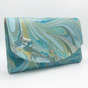 Golden Robin Tessa Curved Clutch - No One Alike