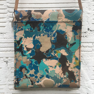 Black & Blue Dotted Cross Body - No One Alike