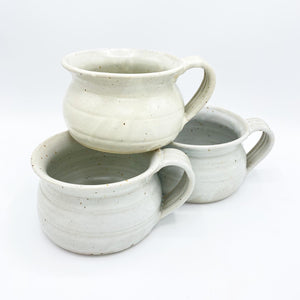 Meloy White Soup Mug - No One Alike