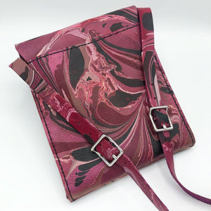Deep Cranberry Small Messenger - No One Alike
