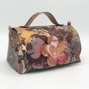 Raspberry Crackle Mini Satchel