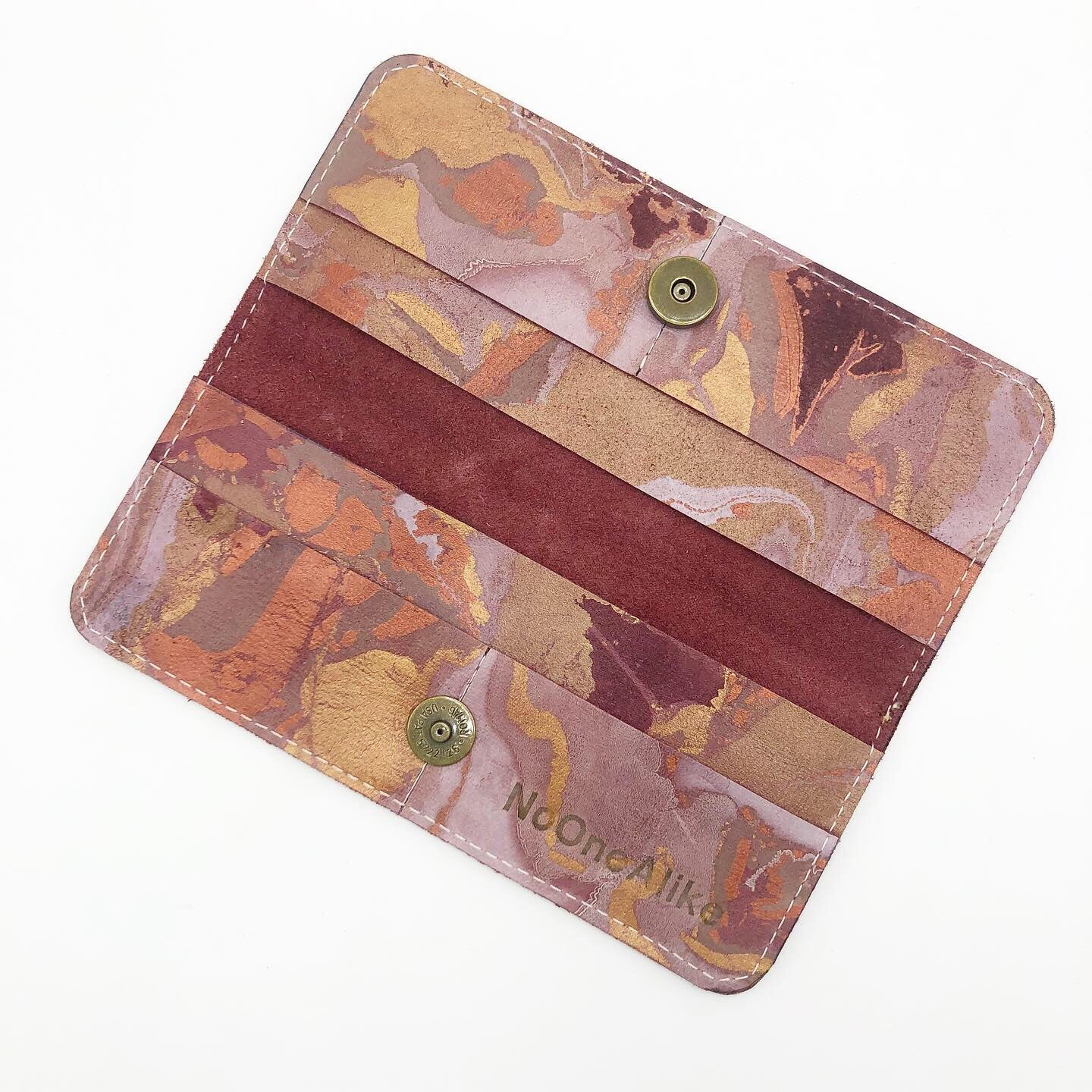 Cranberry Glow Wallet - No One Alike