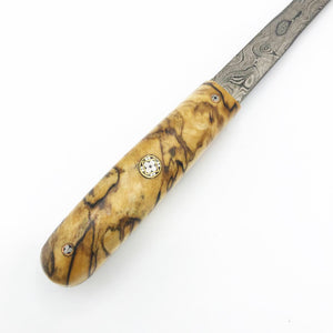 Spalted Maple Letter Opener - No One Alike