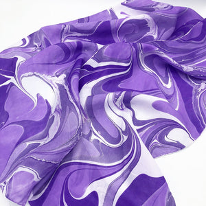 Violet Palette Small Scarf - No One Alike
