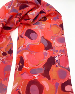 Burton Red Small Scarf - No One Alike