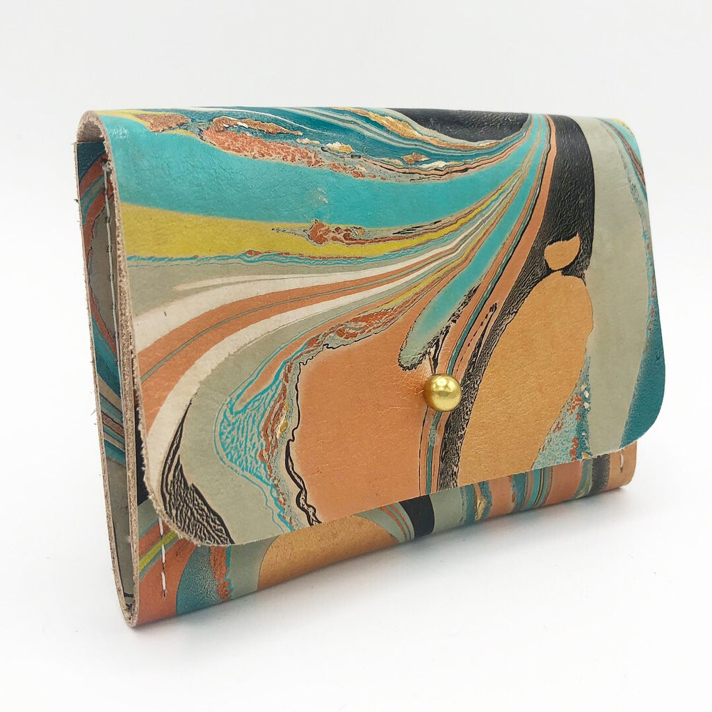 Teal Card Holder