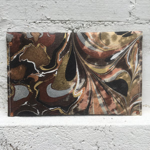 Mixed Media Olive Layers Clutch - No One Alike
