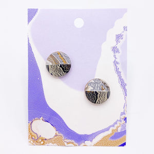 Coconut Milk Accent Earrings