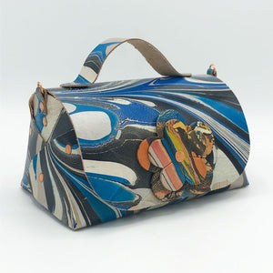 Galactic Blue Mini Satchel - No One Alike