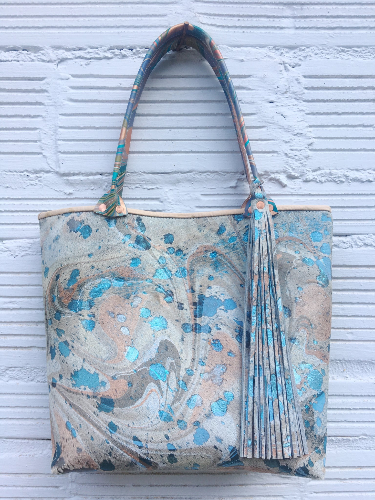 Angelic Hair On Hide Small Tote - No One Alike
