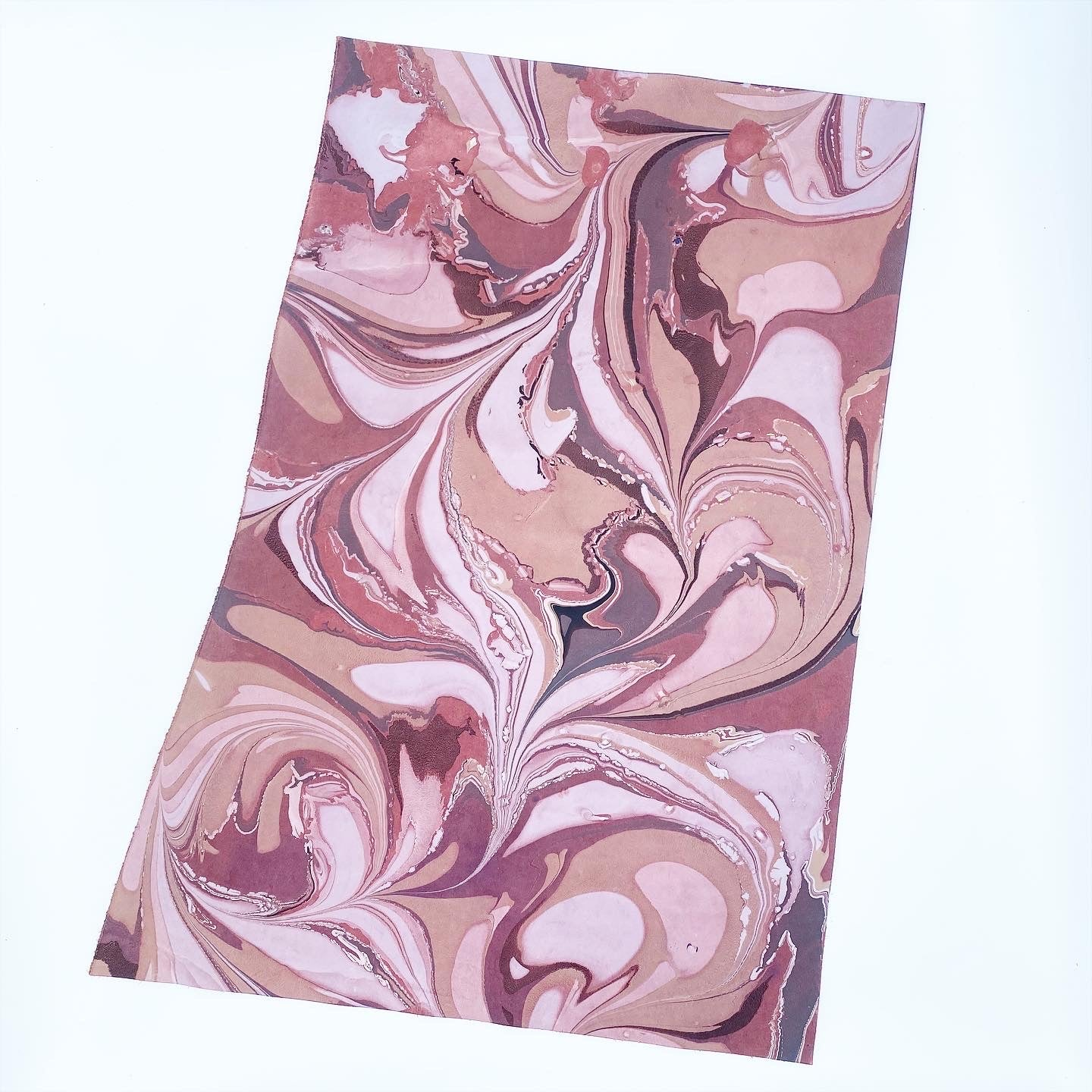 Bohemian Twist Large Leather Sheet