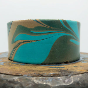 Turquoise & Teal Cuff