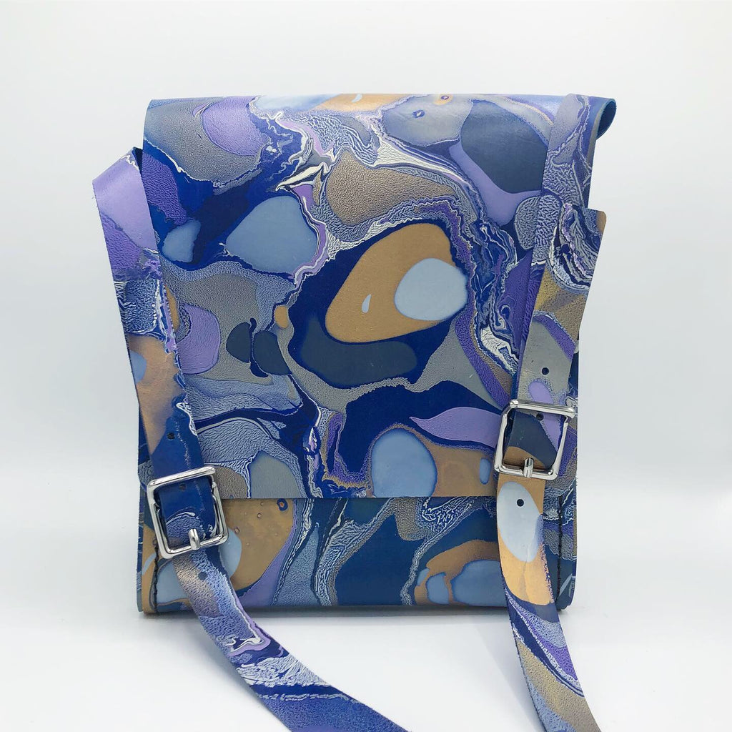 Golden Periwinkle Small Messenger - No One Alike
