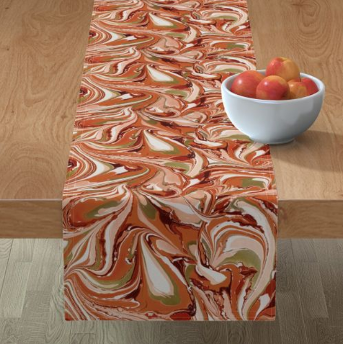 Gorgeous Gourd Table Runner