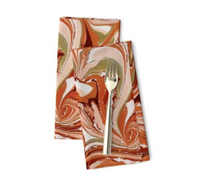 Gorgeous Gourd Table Napkin Set MADE TO ORDER