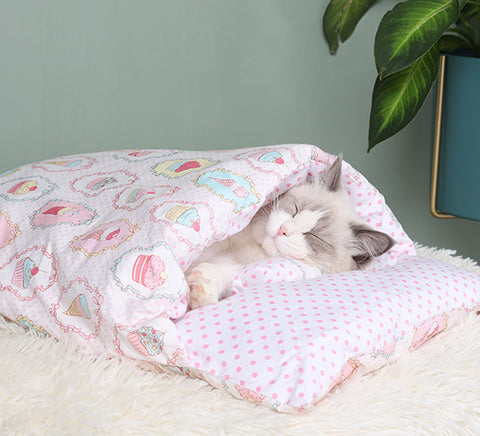 cat sleep bed