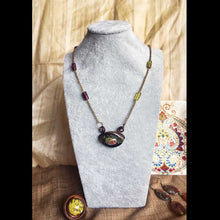 Load image into Gallery viewer, Gaze - Dainty Necklace, Vintage Archives Collection