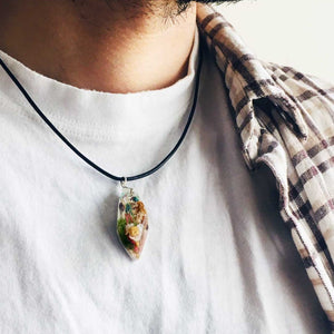 Wild Wanderings 1.0 - Unisex Abstract Pendant (92.5 Sterling Silver)
