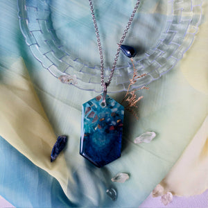Coastal Scents - Two-way Statement Pendant Necklace