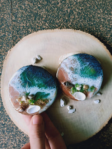 Copper Shore 3D Beach Magnets