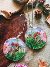 Load image into Gallery viewer, Morning Blossoms, Dried Flower Earrings - Spring Fiesta Reloaded